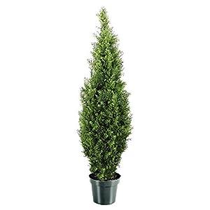 National Tree Company Artificial Shrub Includes Pot Base Arborvitae-48, 48-Inch, Green