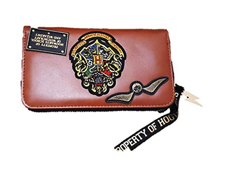 Licensed_Primark Harry Potter Hogwarts Munt & Rits rond portemonnee portemonnee voor dames cadeau nieuwe BNWT