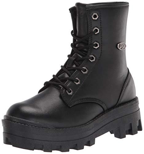 Lugz Women's Dutch Classic 6-inch Chukka Fashion Boot Combat, Black, 11