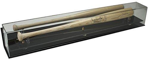 Deluxe Acrylic Baseball Bat Display Case - Wall Mountable