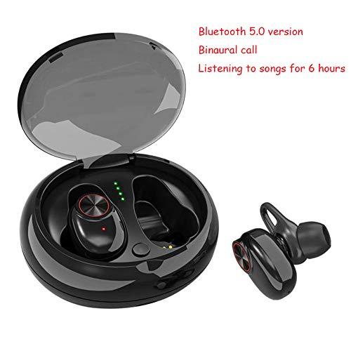 A-Nice Écouteurs sans Fil, Bluetooth 5.0, IPX7 imperméable, Son stéréo 3D, Casques légers Bluetooth. Isolement du Bruit du Microphone intégré dans Les écouteurs Auriculaires. Écouteurs Invisibles.