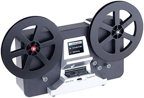Somikon Filmscanner: HD-XL-Film-Scanner & -Digitalisierer für Super 8 & 8 mm, bis 7'-Rollen (Super 8 Filmscanner)