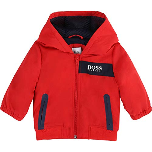 BOSS Coupe-Vent déperlant Layette New Red 6MOIS