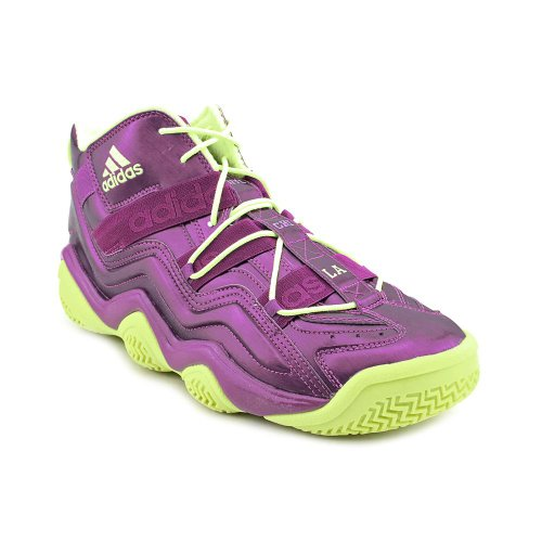 adidas Top Ten 2000 Men's Basketball Shoes Purple/Electric Green g59159 (8.5 D(M) US)