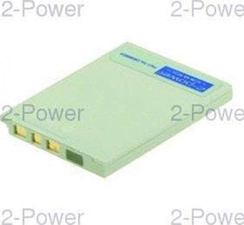2-Power 730mAh Li-Ion (3,7V) Kamera Ersetzt Akku für EN-EL8