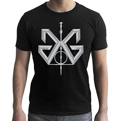 ABYstyle - Fantastic Beast - T-Shirt Grindelwald Uomo Nero (XS)