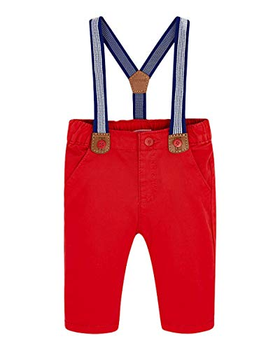 Mayoral - Pantalón para niño con tirantes Newborn