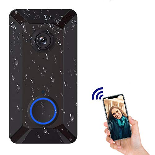 Wireless Video Doorbell Camera, Clear Picture and Video, IP55 Waterproof,...