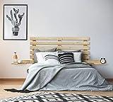 cama de matrimonio de palets 135