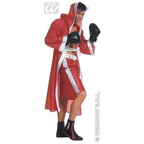 Lively Moments Boxerkostüm / Kostüm monumentaler Boxer / Boxmantel in rot Gr. M = 50