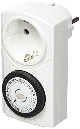 REV Ritter 0025010109 Zeitschaltuhr mechanisch, weiß