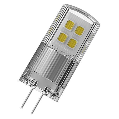 OSRAM LED Superstar PIN, Sockel: G4, Dimmbar, Warmweiß, Ersetzt eine herkömmliche 20 Watt Lampe, Klar, 9er-Pack