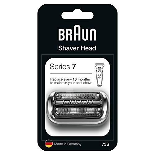 Braun Series 7 73S Elektrorasierer Ersatzscherteil, kompatibel mit Series 7 Rasierer Modellen ab 2020, silber