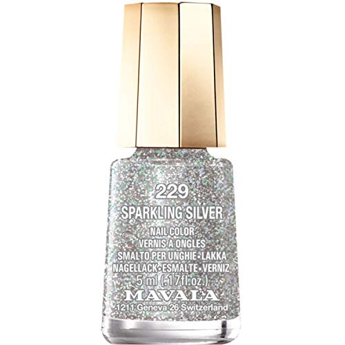 MAVALA MINI COLOR Vernis à ongles Sparkling Silver 229 (5 ml)