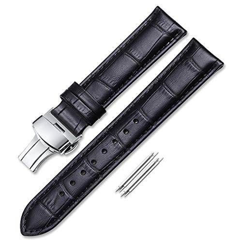 iStrap 18mm 19mm 20mm 21mm 22mm 24mm Vera Pelle Cinturino Fascia Bracciale...