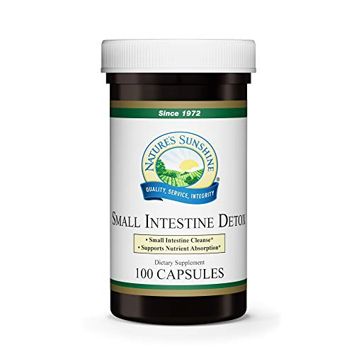 Nature's Sunshine Small Intestine Detox 100 Capsules