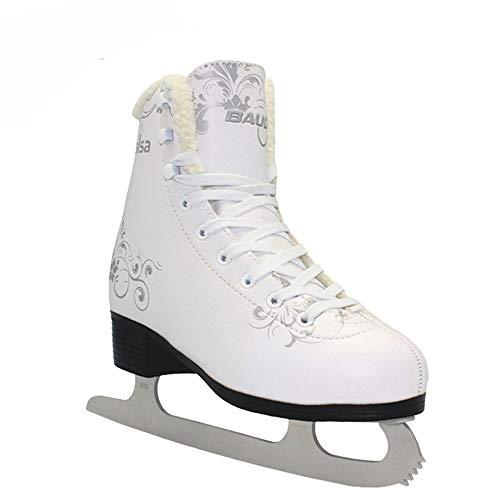 Yuzhijie Erwachsene Eiskunstlaufschuhe Kinder Schlittschuhe Hockeyschuhe Speed Skates 35
