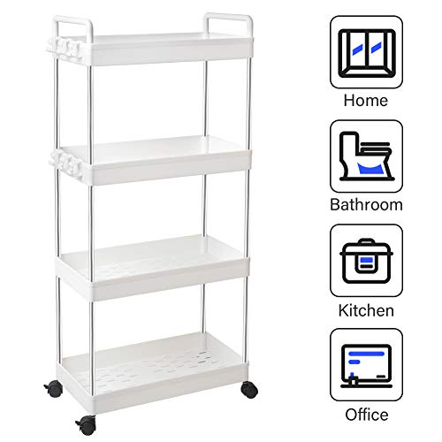 (30% OFF Coupon) Rolling Storage Cart $22.39