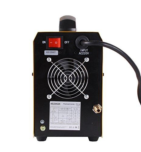 WELDINGER Plasmaschneider PS 52 Plasmaschneidgerät 40A bis 14mm - 3