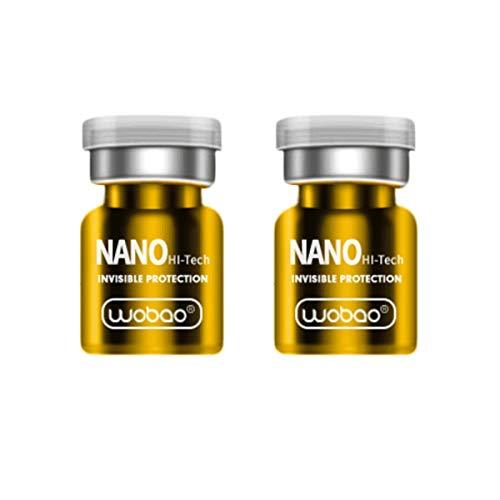 GOW 2 x Nano Liquid für Handy, Smartphone, Tablet & Co. - gegen Finger und Fettspuren - Anti Fingerabdruck (1)