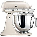 KitchenAid Artisan - Robot de cocina (4,8 L), color blanco