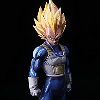 33Cm Gro & Szlig; E Dragon Ball Z Vegeta Super Saiyajin Drama Version PVC Actionfigur Vegeta Comics Goku Fight DBZ Kollektion Modell, Comics Real Boxed