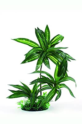 RepTech Fake Plant, triple bromeliad by RepTech