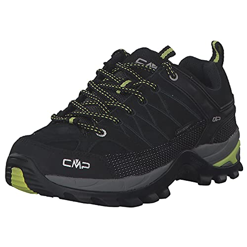 CMP Damen Trekking Schuhe Rigel Low 3Q13246 Nero-Lime 39