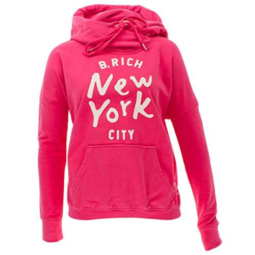 Better Rich Damen Hoodie in Oversized Shape Größe XL Pink (pink)