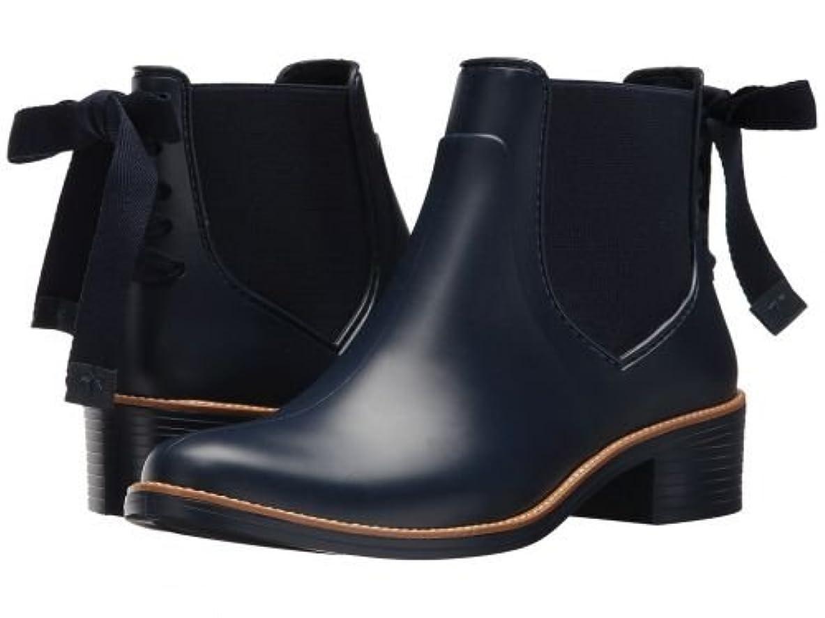 心理的に接続されたインフラBernardo(バーナード) レディース 女性用 シューズ 靴 ブーツ レインブーツ Paige Rain - Navy [並行輸入品]