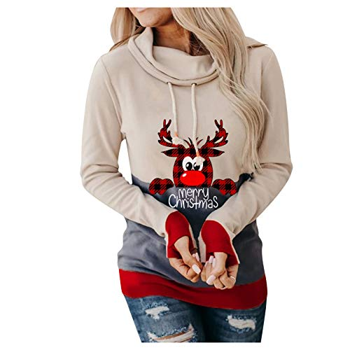 Ghazzi Sweatshirt for Women Halloween Horror 3D Print Long Sleeve Drawstring Sweatshirt Lightweight Casual Pullover Tops