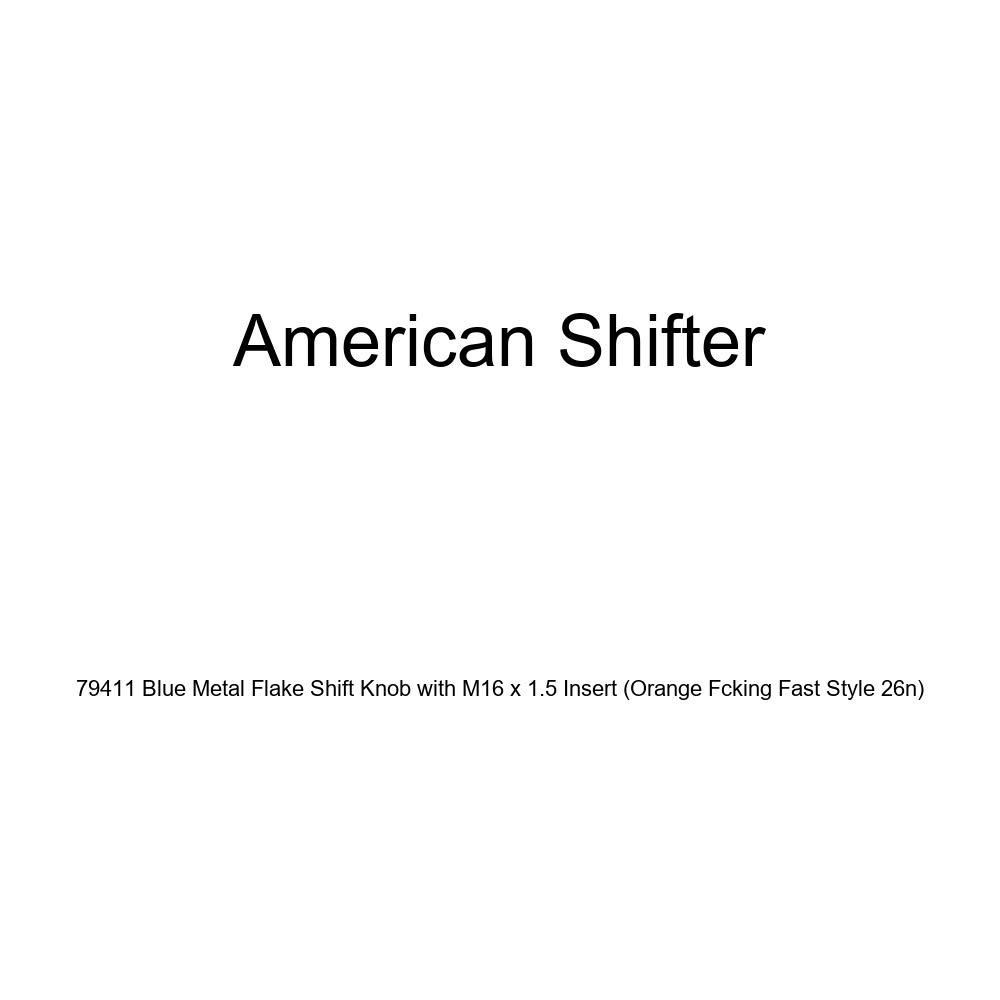 American Shifter 262821 Green Flame Metal Flake Shift Knob with M16 x 1.5 Insert Orange Headphones