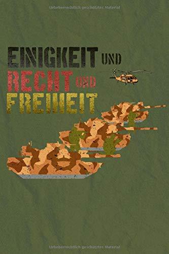 NOTIZBUCH Bundeswehr Beruf Soldat Soldaten Berufssoldat: Linierte Seiten liniert mit 120 Blätter Notizbuch, Notizheft A5 (6x9 inches) Geschenk