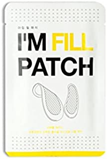 KARATICA I'M FILL PATCH, for wrinkles and fine lines, Hyaluronic acid, Micro-needle Patch, Dark Circle Puffiness, Moisturizing, Eye filler patch, 1 pair