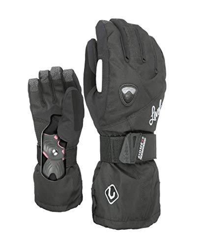 Level Damen Handschuhe Butterfly W, Black, 6,5