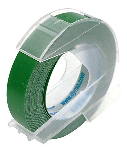ダイモ テープ 幅9mm×3m巻 マット 緑 DM0903GR
