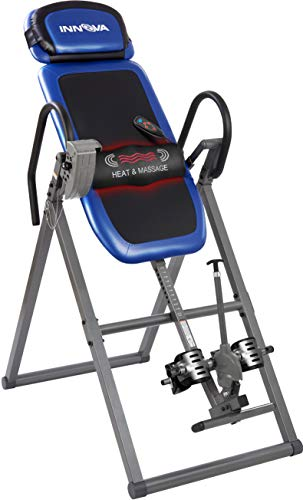 Innova Fitness ITM4800 Advanced Heat and Massage Therapeutic Inversion Table