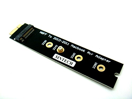 Sintech M.2 NGFF SATA SSD to 18Pin Adapter For Upgrade SSD of 2010-2011 Year Air