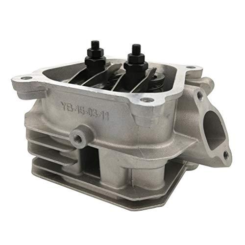 Cancanle Zylinderkopfbaugruppe für Honda GX200 GX160 2KW EC2500 TG2500 5,5-6,5HP Benzinmotor Generatorgrubber