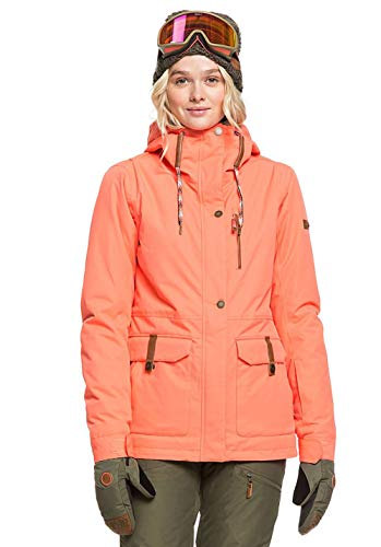 Roxy Damen Andie Spindye Skijacke orange M
