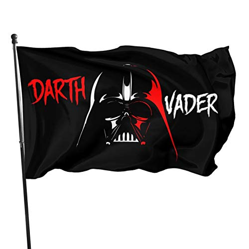 YuXia Star Wars Darth Vader Dark Side Flag 3x5 feet Strong, Durable, Easy to disassemble, Indoor/Outdoor UV Resistant Brass Washer, Garden Fashion Flag