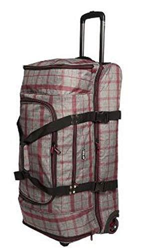 New Rebels Jumbo-roltas met apart bodemvak, 75 x 38 x 38 cm, 100 liter, 2,8 kg trolleytas, sporttas, vrijetijdstas