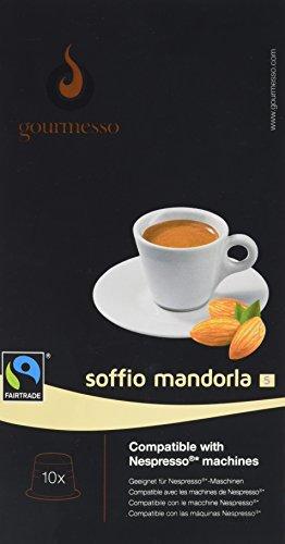 Gourmesso Soffio Mandorla - 10 Nespresso kompatible Kaffeekapseln