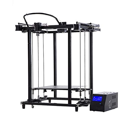 H&1 Kit DIY Imprimante 3D, avec La Fonction d'impression CV, Système D'entraînement À Double Axe Z pour L'impression Ultra-Silencieux, Impression Volume 320 * 320 * 460Mm
