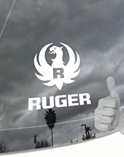 FIREARMS COMPANY LOGO_RUGER_2ND AMENDMENT_RIGHT TO BEAR ARMS_TEAM USA_D&A Special Vinyl Decal Sticker(COLOR WHITE)