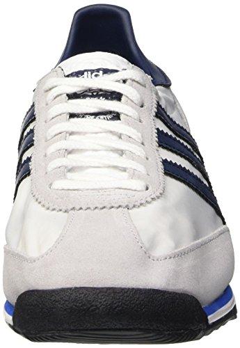 Adidas SL 72, Zapatillas de Running Hombre, Blanco/Azul Marino/Gris (Ftwbla/Maruni/Reabri), 46