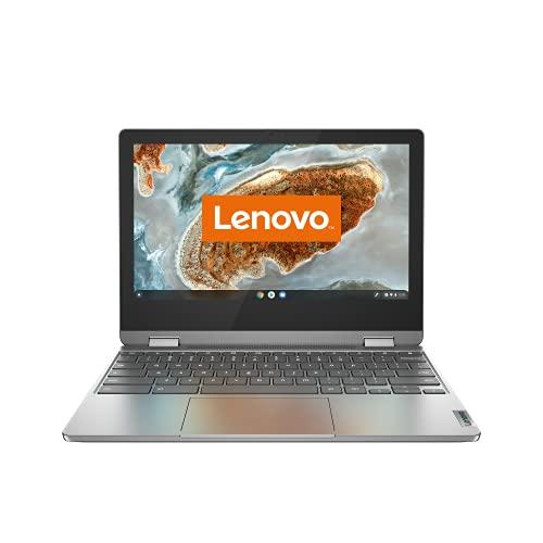 Lenovo IdeaPad Flex 3 Chromebook 29,5 cm (11,6 Zoll, 1366x768, HD, Touch) Slim Notebook (MediaTek MT8183, 4GB RAM, 64GB eMMC, ARM Mali-G72 MP3, ChromeOS) grau