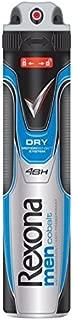 Rexona Body Spray Anti-Perspirant/Anti-Transpirant (9X 200 ml/6.67 oz, Cobalt)
