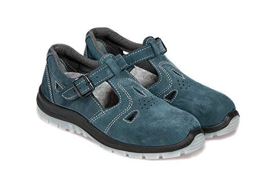 Arbeitsandale PPOKG 251W S1 Sandale Damenschuhe Frauenschuhe Mit Stahlkappe Arbeitsschuhe (39 EU)