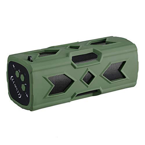 Learn More About BLUEE Portable Speaker Waterproof Wireless Bluetooth Subwoofer Handsfree Speaker NF...